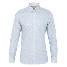 Buy Ted Baker Trammo Tile Print Cotton Shirt Online at johnlewis.com