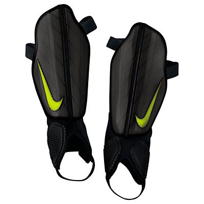 Nike Protegga Shin Guards, Black/Volt