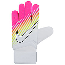 Buy Nike Match Goalkeeper Football Gloves Online at johnlewis.com