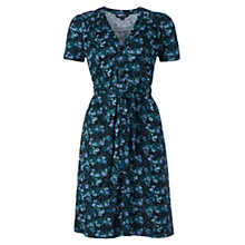 Buy French Connection Marilyn Floral Tea Dress, Blue Online at johnlewis.com