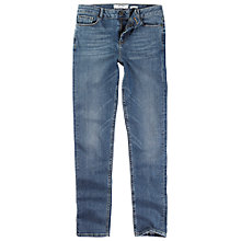 Buy Fat Face Mid Rise Vintage Slim Fit Jeans, Denim Online at johnlewis.com