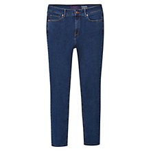 Buy Violeta by Mango Super Slim Fit Alexandra Jeans, Open Blue Online at johnlewis.com
