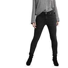 Buy Violeta by Mango Super Slim Fit Alexandra Jeans, Open Grey Online at johnlewis.com