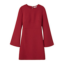 Buy Mango Flared Sleeves Dress, Rust Online at johnlewis.com