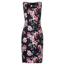 Buy Hobbs Rita Rose Dress, Navy Multi Online at johnlewis.com