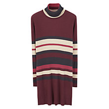Buy Mango Striped Cotton Dress, Cherry Online at johnlewis.com
