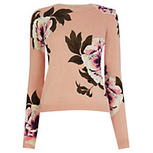 Buy Oasis Opium Print Jumper, Multi Online at johnlewis.com
