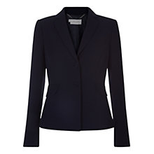 Buy Hobbs Wendy Jacket, Navy Online at johnlewis.com