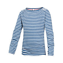 Buy Fat Face Girls' Maggie Stripe T-Shirt Online at johnlewis.com