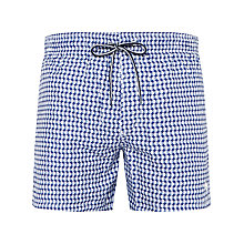 Buy Ted Baker Geo Spot Swim Shorts Online at johnlewis.com