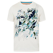 Buy Ted Baker Toucan Print T-Shirt Online at johnlewis.com