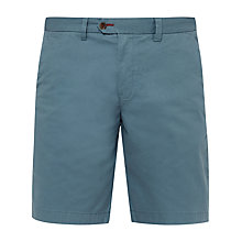 Buy Ted Baker Corsho Chino Shorts, Mid Green Online at johnlewis.com