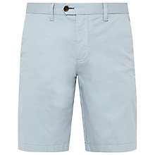 Buy Ted Baker Corsho Chino Shorts, Light Grey Online at johnlewis.com