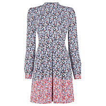 Buy Warehouse Floral Ditsy Babydoll Dress, Multi Online at johnlewis.com