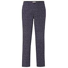 Buy White Stuff China Blue Trousers, Bejing Blue Online at johnlewis.com