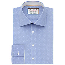 Buy Thomas Pink Perkins Check Super Slim Fit Shirt, Blue/White Online at johnlewis.com