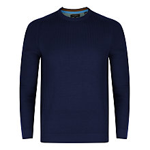 Buy Ted Baker Kybosh Mixed Stitch Crew Neck Jumper Online at johnlewis.com