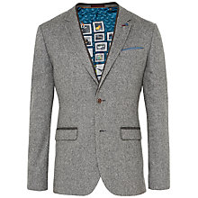 Buy Ted Baker Montelo Herringbone Suit Jacket, Grey Online at johnlewis.com