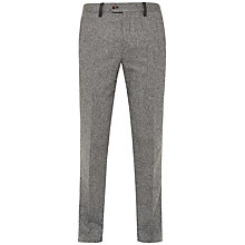 Buy Ted Baker Montro Herringbone Suit Trousers, Grey Online at johnlewis.com