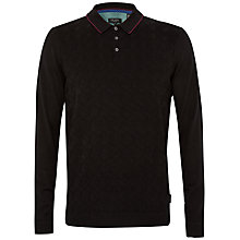 Buy Ted Baker Hexham Patterned Knit Polo Shirt Online at johnlewis.com