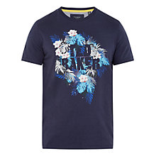 Buy Ted Baker Voltay Tropical Graphic T-Shirt Online at johnlewis.com