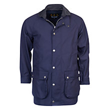 Buy Barbour Astern Cotton Jacket, Navy Online at johnlewis.com