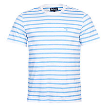 Buy Barbour Greystead Striped Crew Neck T-shirt Online at johnlewis.com