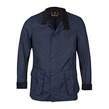 Buy Barbour Oreboat Jacket, Navy Online at johnlewis.com
