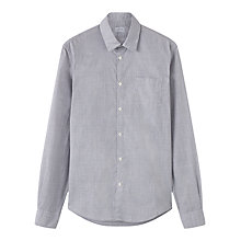 Buy Jigsaw Fine Prince of Wales Shirt, Grey Online at johnlewis.com