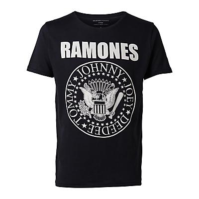 Selected Homme Ramones Short Sleeve TShirt