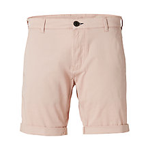 Buy Selected Homme Paris Shorts, Mahogany Rose Online at johnlewis.com