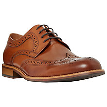 Buy Dune Radcliffe Derby Lace-Up Brogue Shoes Online at johnlewis.com