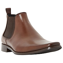 Buy Dune Arkwrights Square Toe Chelsea Boots, Tan Online at johnlewis.com
