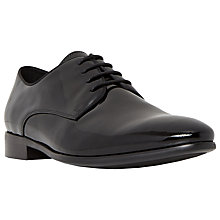 Buy Dune Roosevelt Lace-Up Derby Shoes, Black Online at johnlewis.com