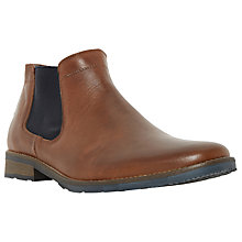 Buy Dune Coopers 1 Colour Pop Chelsea Boots, Tan Online at johnlewis.com