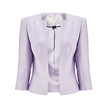 Buy Jacques Vert Edge To Edge Jacket, Lilac Online at johnlewis.com