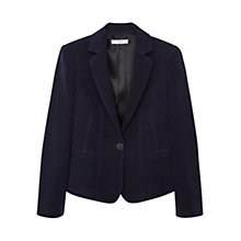 Buy Mango Elbow Patch Cotton Blazer Online at johnlewis.com
