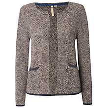 Buy White Stuff Mini Moon Cardigan, Panda Grey Online at johnlewis.com