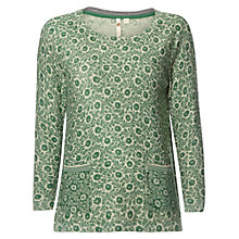 Buy White Stuff Orchard Tree Jumper, Ivy Green Online at johnlewis.com