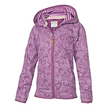 Buy Fat Face Girls' Doodle Print Zip Through Hoodie, Pink Online at johnlewis.com