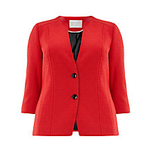 Buy Windsmoor Textured Jacket, Red Online at johnlewis.com