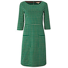 Buy White Stuff Spot Jersey Dress, Ivy Green Online at johnlewis.com
