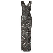 Buy Phase Eight Collection 8 Audrey Embellished Dress, Petrol Online at johnlewis.com