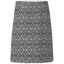 Buy White Stuff Stencil Skirt, Spire Blue Online at johnlewis.com