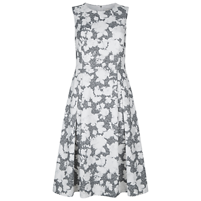 Product photo of Damsel in a dress floral corset maya dress ivory black