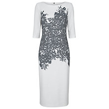 Buy Damsel in a dress Floral Corset Dress, Ivory/Black Online at johnlewis.com