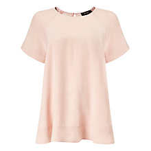 Buy Phase Eight Alessia Top, Blush Online at johnlewis.com