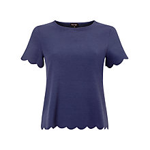 Buy Phase Eight Teagan Top, Navy Online at johnlewis.com