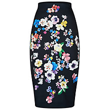 Buy Damsel in a dress Aromatic Skirt, Black/Multi Online at johnlewis.com