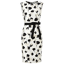 Buy Precis Petite Shantung Tulip Dress, Cream/Multi Online at johnlewis.com